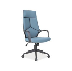 Eshopist Kancelárska stolička Q-199 modrá/ čierny rám