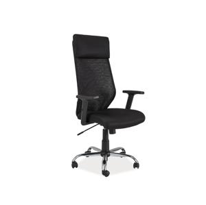 Eshopist Kancelárska stolička Q-211 čierna
