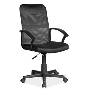 Eshopist Kancelárska stolička Q-702 čierna