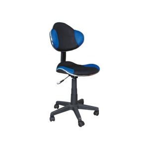 Eshopist Kancelárska stolička Q-G2 modro/čierna