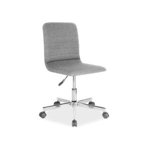 Eshopist Kancelárska stolička Q-M1 šedá