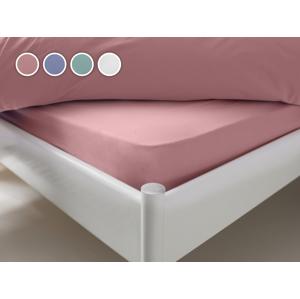 Posteľná plachta Essentials Dormeo, 120x200 cm, ružová
